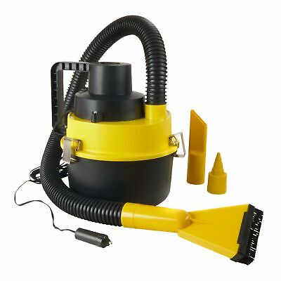 Auto Cleaning Shop - Car Vacum Cleaner Wet Dry 12v Lightweight Clean Dirt Shop Vac Portable Auto Air