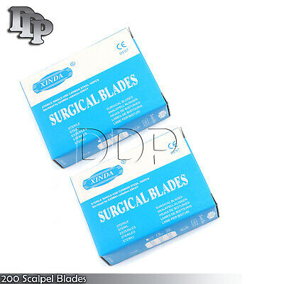 200 Scalpel Blades 15 Surgical Dental Ent Instruments