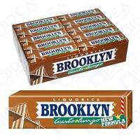 10 Confezione Gomme Da Masticare Brooklyn Liquirizia Liquorice Chewing Gum - mastica - ebay.it