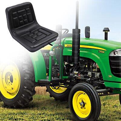 Adjustable Tractor Seat Skid Steer Loader Lawn Garden Mower Seat 363530 Cm New