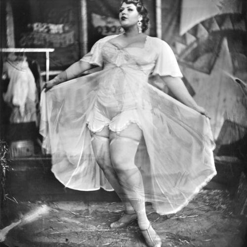 AJ BARNES - Large Circus Woman Ltd Edition Fine ART Photograph Wet Plate Process