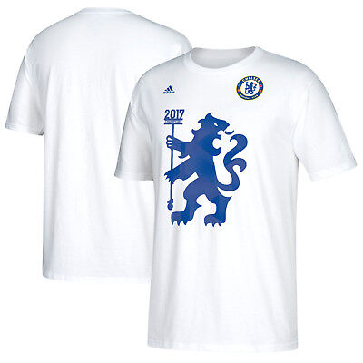 Champion Organic Cotton Tee - Official adidas Chelsea 2016/17 Premier League Champions Men's T-Shirt (CZ0667)