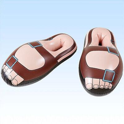 Schuhe Scherzartikel Schuh Sandale Partydeko Dekoration (Aufblasbare Schuhe)