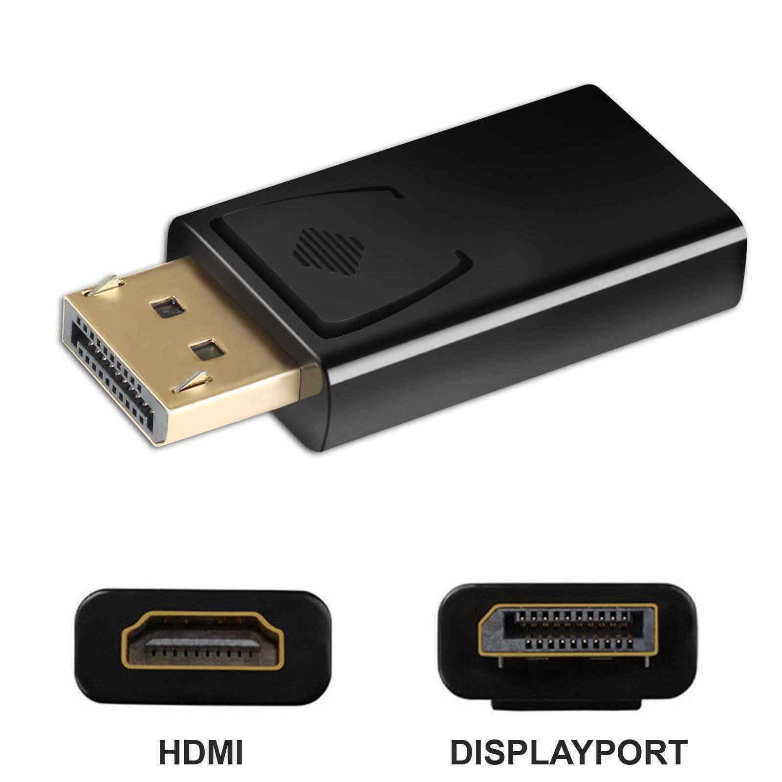 New Display Port to HDMI Male Female Adapter Converter DisplayPort DP to HDMI US Consumer Electronics