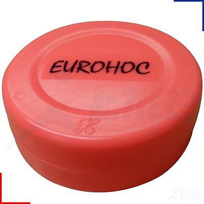 Eurohoc Ice Hockey Training Puck Hi Vis Orange