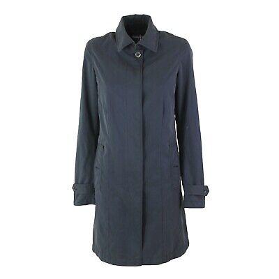 Cappotto Trench Donna REFRIGIWEAR PM 0004 Blu Rain-Proof Mis L