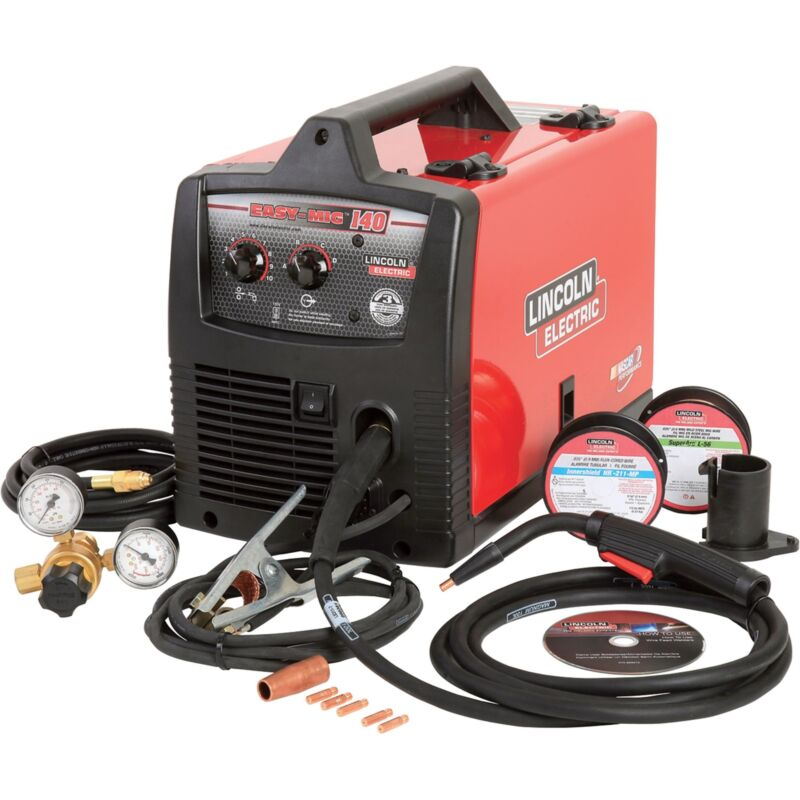 Lincoln Easy MIG 140 Welder-120V 140 Amps #K2697-1