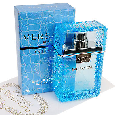 Versace Man Eau Fraiche Eau De Toilette Men Perfume Cologne Parfum Fragrance 1oz