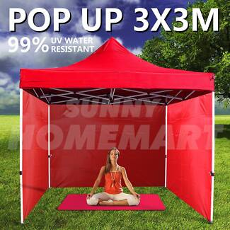 New Heavy Duty POP UP Outdoor Gazebo Folding Tent Marquee 3mx3m Richlands Brisbane South West Preview