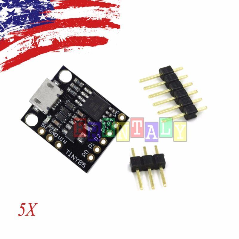 5X PCS Digispark Kickstarter Attiny85 USB Development Board for arduino