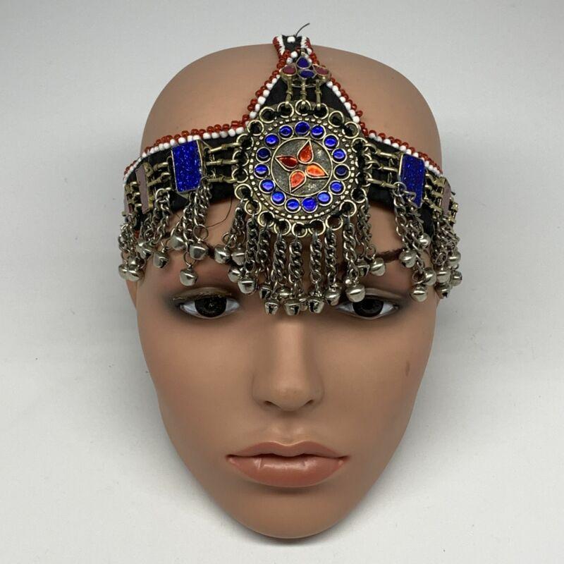 86g, Kuchi Headdress Headpiece Afghan Ethnic Tribal Jingle Bells @Afghanistan, B