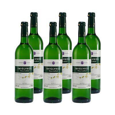 Achaia Clauss Imiglykos Weißwein -lieblich- (6 x 0,75L) 10,50% vol. 4,5 L