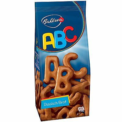 Bahlsen ABC Russian Bread Biscuits/Cookies -100g-FREE SHIPPING- ()