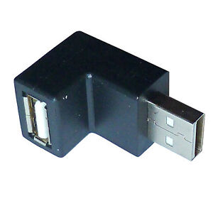 USB Angle Right Angled Adaptor 90 Degree - Direction Down - SENT TODAY
