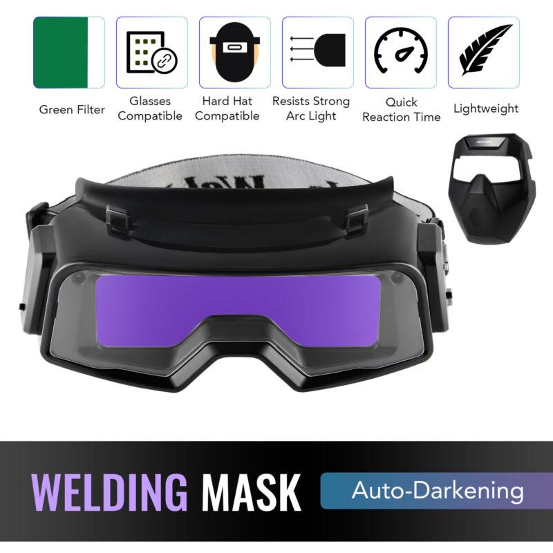 Welder Glasses Welding Mask Auto Darkening Helmet for TIG MIG Plasma Arc Welding