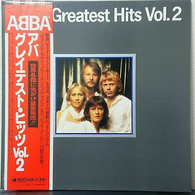 ABBA GREATEST HITS VOL.2 Japan VINYL LP DISCOMATE DSP-5113 OBI NM
