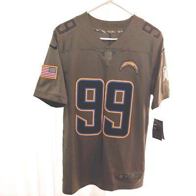 NFL Nike La Ladegeräte Bosa 99 Salute To Service Trikot Olive Herren Gr. S $ 160