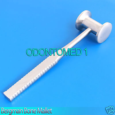 Bergman Bone Mallet 300 Grams 24.5cm Veterinary Orthopedic Instruments