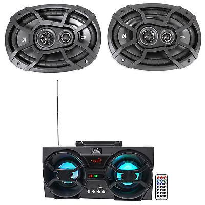 2  Kicker 43Csc6934 6X9  900W 3 Way Car Audio Speakers Csc693   Free Speaker