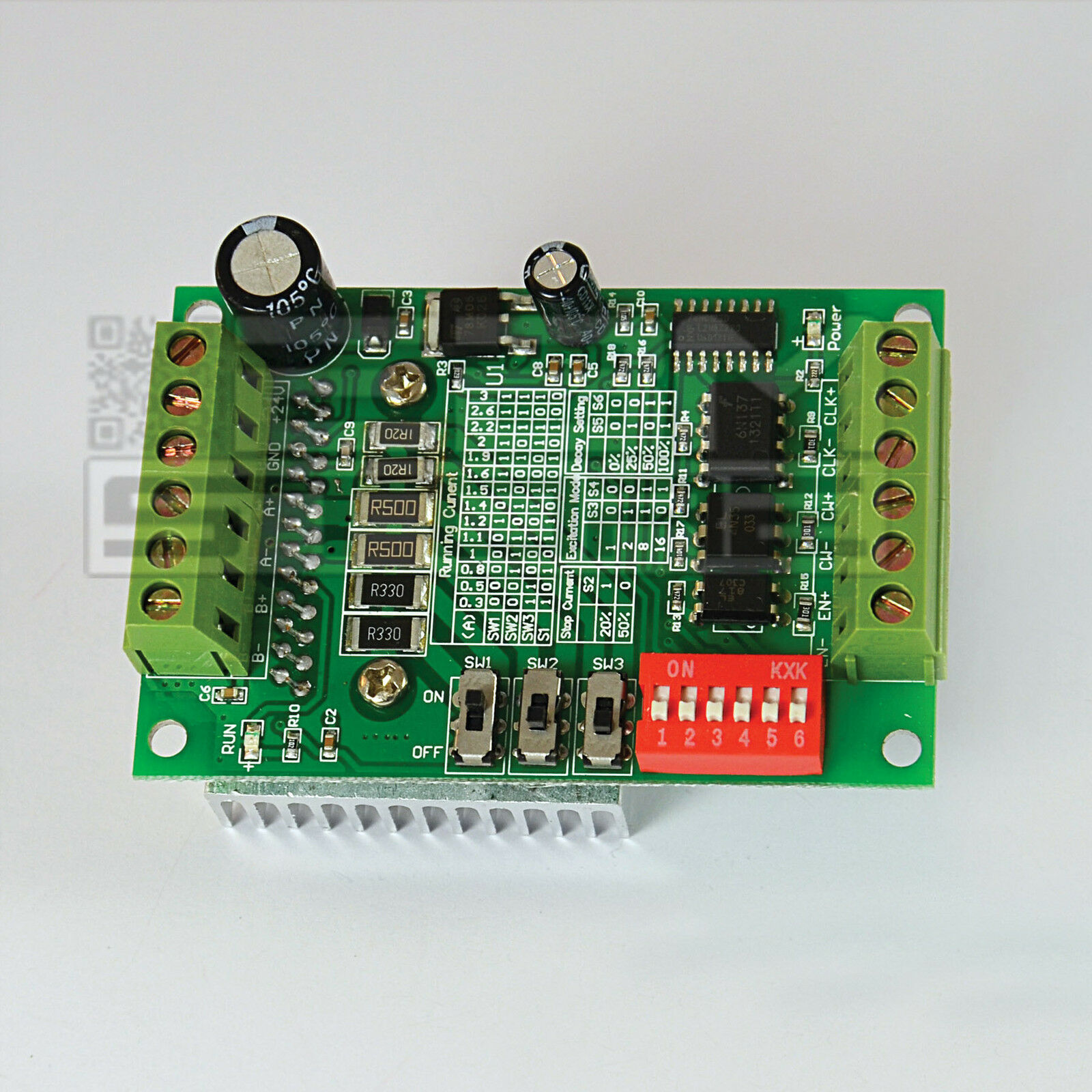 Driver 1 asse TB6560 per motori passo passo stepper cnc arduino pic - ART. CO03