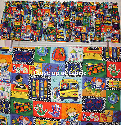 New Teacher Classroom School Children Daycare Learning Center Valances Curtain ](Classroom Curtains)