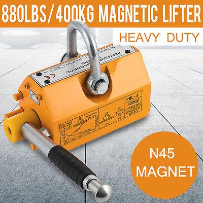 Magnetic Lifters - 400 KG Steel Magnetic Lifter Heavy Duty Crane Hoist Lifting Magnet 880 LB