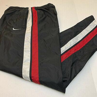 vintage nike nylon  pants size large