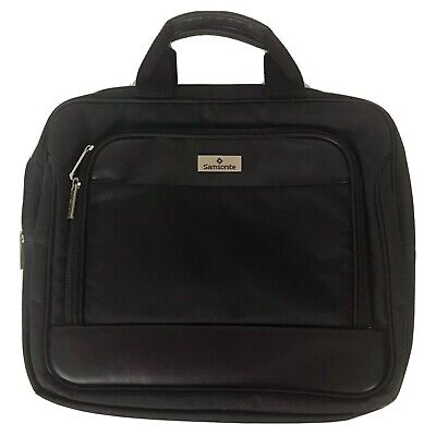 Samsonite 16 in Laptop Case Bag Attache Briefcase Travel Carry On Business Nylon