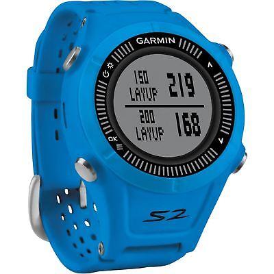 Garmin Wandern S2 GPS Golf Uhr mit 38,000 Weltweit Kurse - Blau