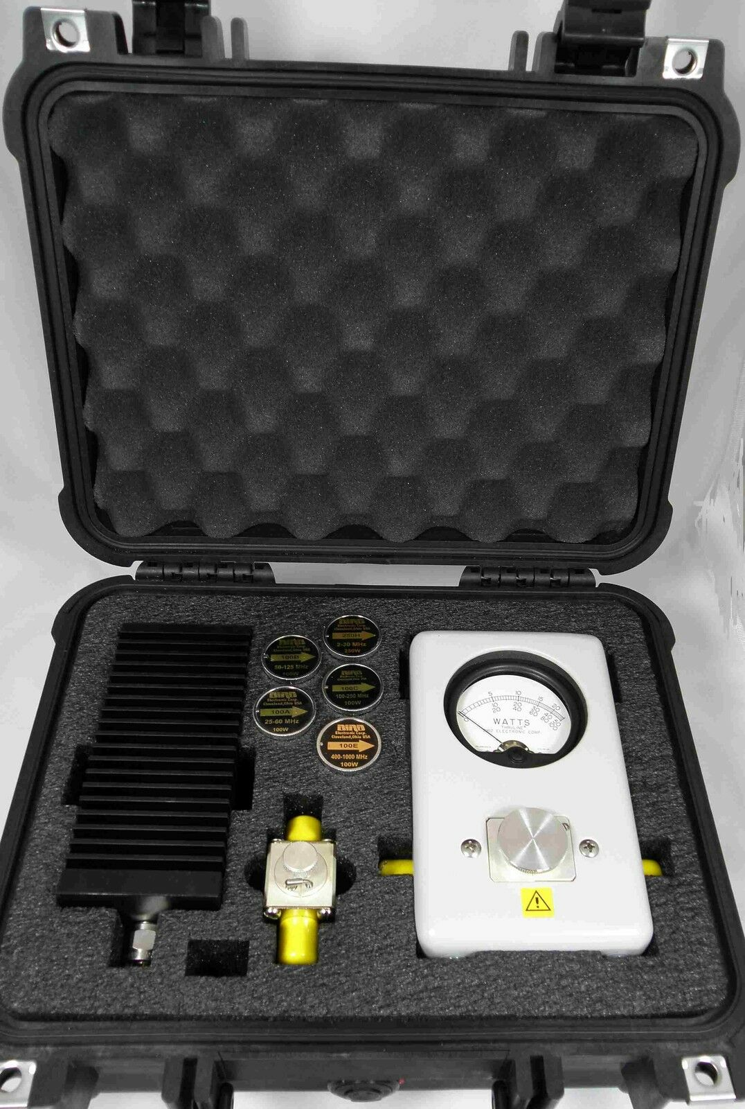 Photo Deluxe Pelican Case - for Bird 43 Wattmeter & 100W Load - Larger than CC-6 Case