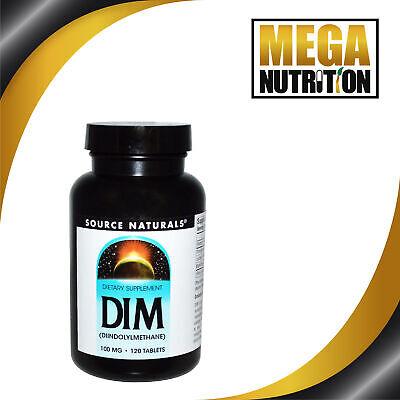 Source Naturals DIM (Diindolylmethane) 100mg   120 Tablets   Estrogen (Source Naturals Dim Diindolylmethane 100mg 120 Tablets)