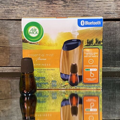 essential mist bluetooth connected diffuser starter kit