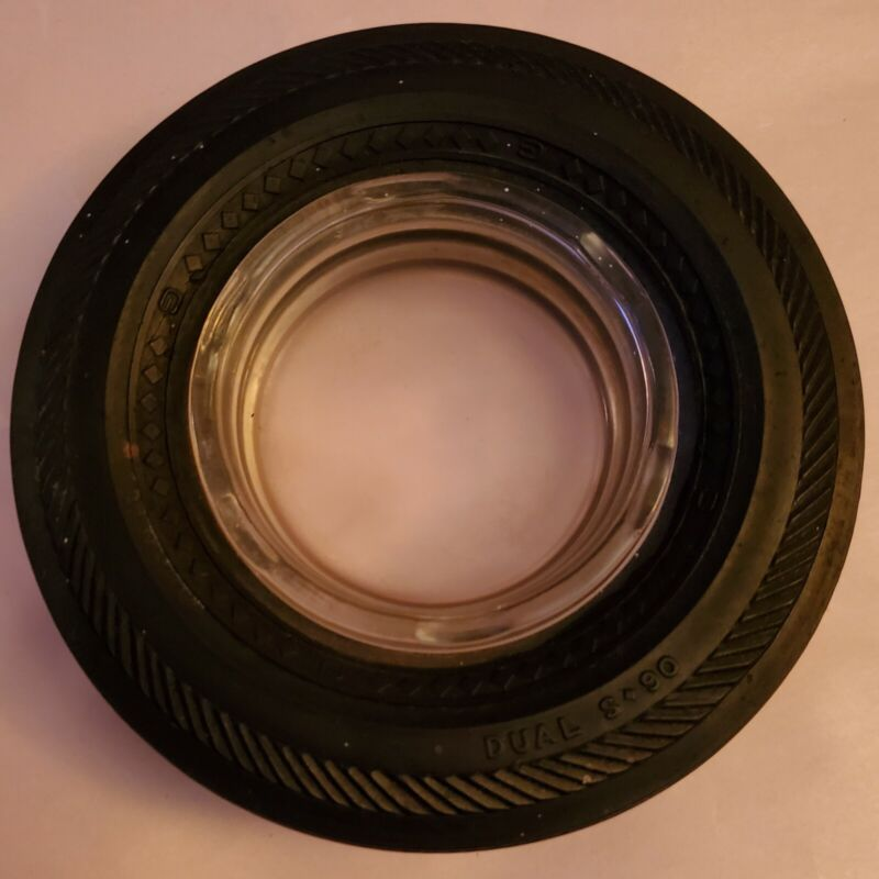 """Tire Ashtray 6""""  From tire store"""