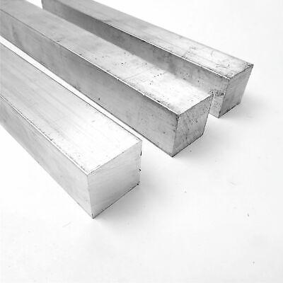 1.5 Aluminum 6061 Square Solid Flat Bar 12.375 Long Pieces 3 Sku M610