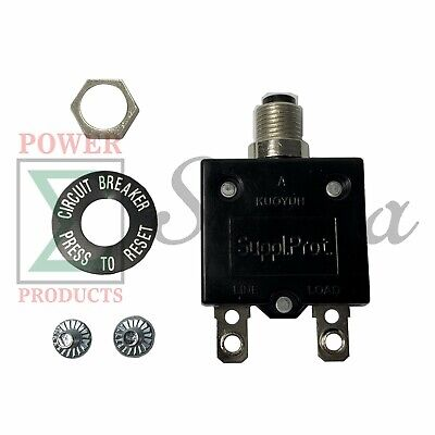 20a Circuit Breaker 125-250vac For Chicago Electric 16000 Watts Pto Generator