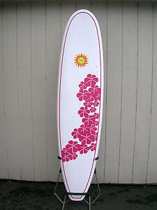 psi peru surf industries new surfboard longboard surfer girl epoxy 7'6 nose ride
