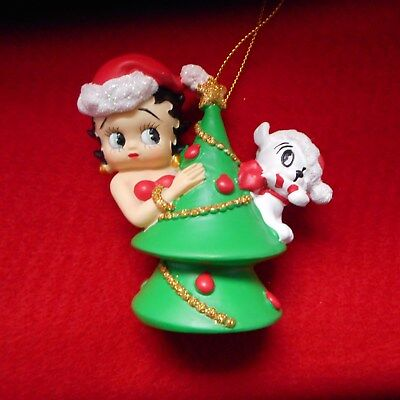 "NEW Betty Boop ""Christmas Tree Betty"" Ornament from Westland Giftware"