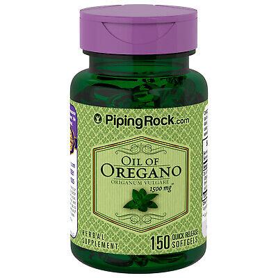 ACEITE DE OREGANO 1500 mg 150 Perlas -