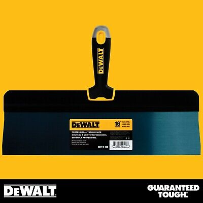 Dewalt Taping Knife 16 Premium Blue Steel Big Back Drywall Taping Tool