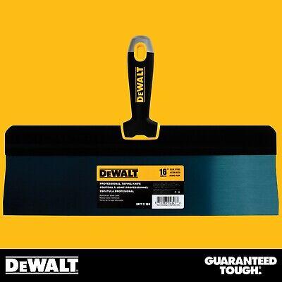 Dewalt Taping Knife 16 Premium Blue Steel Big Back Drywall Taping Tool