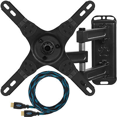 """LCD LED Corner Articulating Arm Flat TV Wall Mount 13""""-27"""""""