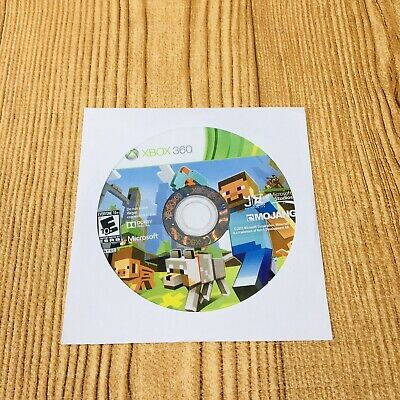 Microsoft Minecraft Xbox 360 Edition No manual. Tested Game