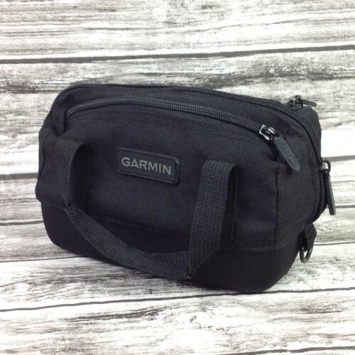 Garmin Aera GPS Carry Bag Mini Duffel Soft Black Pouch Zippered Case New Duffle