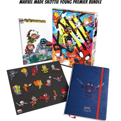 2020 SDCC Marvel Skottie Young Premier Bundle w/ Bonus Sketch Variant - PREORDER