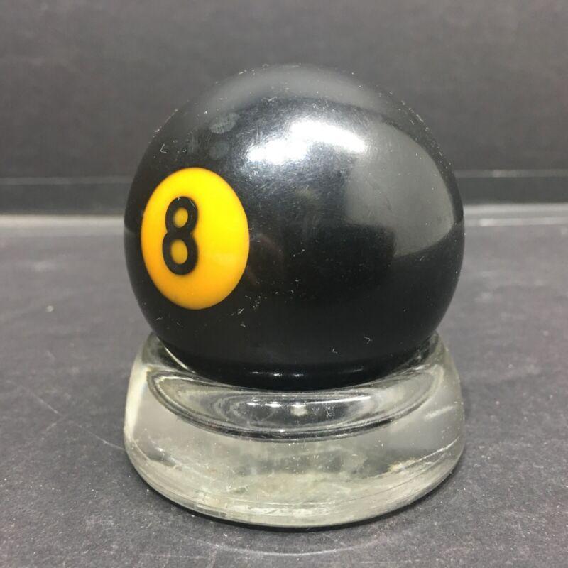 """Vintage  #8 Ball Replacement Ball 2 1/4"""" Pool Billards BAKELITE"""