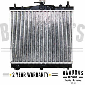 RADIATOR FITS NISSAN MICRA K12 1.0, 1.2, 1.4, 1.6 2003 TO 2010 FOR MANUAL CARS
