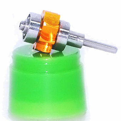 Gold Ceramic Bearing Air Turbine Cartridge For Dental Led High Speed Handpiece