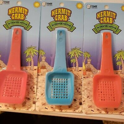 Florida Marine Research Hermit Crab Sand Scooper/Sifter. Colors Vary
