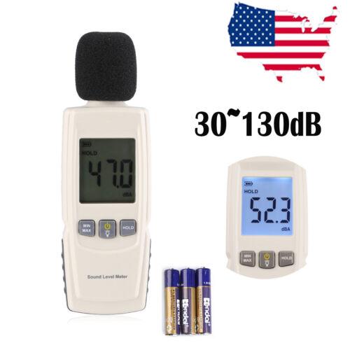 Digital LCD Sound Pressure Level Decibel Noise Meter Tester Measurement 30~130dB