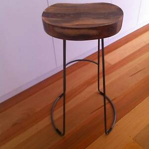 Bar Stools - Tractor x 2 Greenwich Lane Cove Area Preview